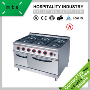 6 Gas Burner with Gas Oven pictures & photos