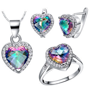 925 Silver Jewelry Set Earrings and Pendants Set pictures & photos