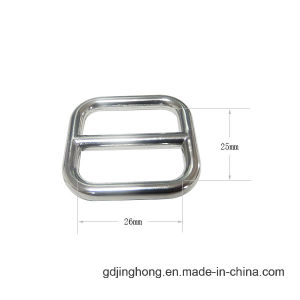Metal Silver Plated Customized Zinc Alloy Pin Belt Buckle pictures & photos