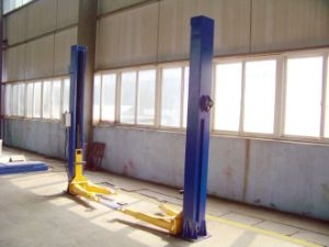 4.2t Two Post Floor Palte Hydraulic Auto Lift Used for Garage