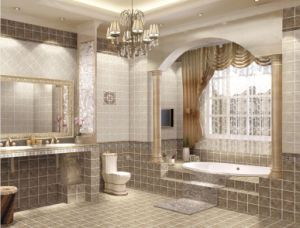Anti Slip Glazed Porcelain Wall and Floor Tile