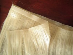 Brazilian Virgin Remy Skin Weft Hair Extension pictures & photos