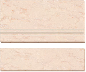 Double Loading Polished Porcelain Stair Tiles (AJ-4) pictures & photos