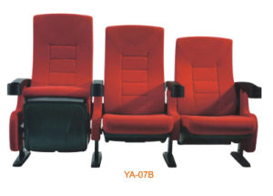 Cinema Furniture, Cinema Chair with Plastic (YA-07B) pictures & photos