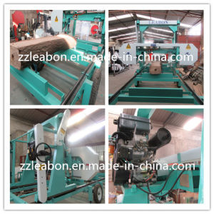 Automatic Portable Sawmill Used for Large Wood Logs Cutting pictures & photos