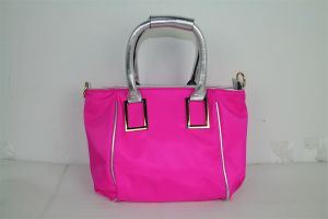 Fashionable Lady′s Satin Handbags in Pink Color (AHA2055) pictures & photos