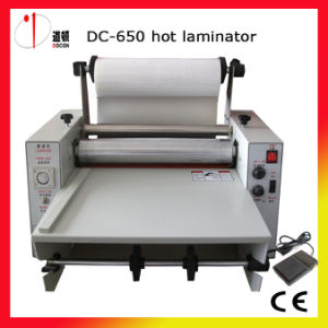 Cold &Hot Roll Laminator Machine 615mm Laminating Machine pictures & photos