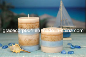Scented Pillar Candle pictures & photos