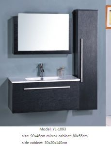 Sanitary Ware MDF Bathroom Furniture with Mirror