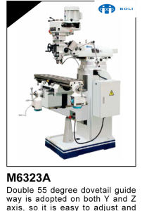 M Series Universal Turret Milling Machine. Bridge Port Milling Machine pictures & photos