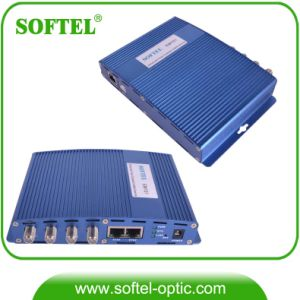 Indoor Coaxial Cable Modem Eoc Master with 2 Gigabit Ethenet Port pictures & photos