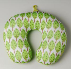 Microbeads Printing U Neck Pillow/Car Headrest Pillow