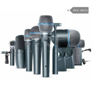 Beta Dmk7-XLR7 Professional Studio Drum Microphone Kit pictures & photos