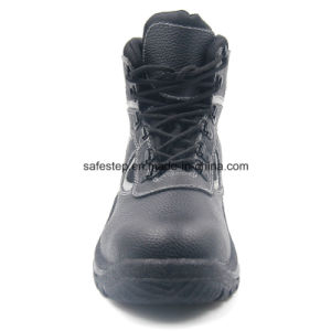 Split Leather Industrial Safety Shoes with Steel Toe pictures & photos