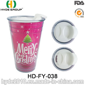 Promotional Double Wall Plastic Christmas Party Solo Cup pictures & photos