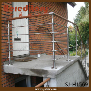 Stainless Steel Material Handrail Design for Cable Railing (SJ-S067) pictures & photos