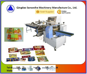 Swf-450 Horizontal Form-Fill-Seal Type Wrapping Machine pictures & photos