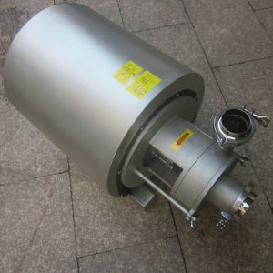 Stainless Steel Sanitation Round Cover Centrifugal Pump pictures & photos