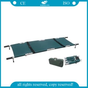 Aluminum Military Folding Stretchers Patient Ambulance Stretcher pictures & photos