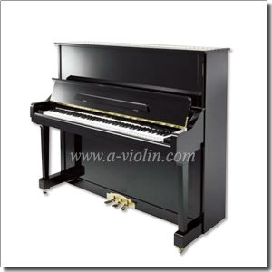 88 Keys Acoustic Upright Black Polished Silent Piano (AUP-131) pictures & photos