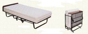 Folding Add Bed with Wheels for Hotel (KW-58C) pictures & photos