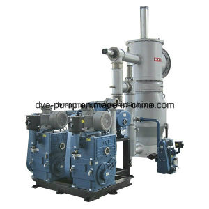 Double-Stages Rotary Piston Vacuum Pump for Oil Dehydration Machine pictures & photos