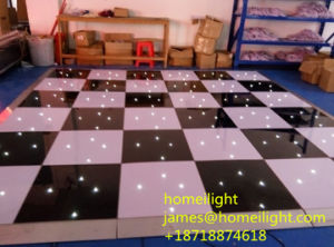 Wireless Remote White LED Twinkling Starlit Dance Floor for Wedding Stage Show pictures & photos