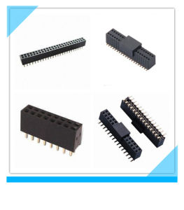 Factory Custom 1.27mm Electronic PCB SMT Female Header pictures & photos