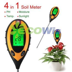 4 in 1 Multifunctional Soil pH Meter Garden Tool (HT5211) pictures & photos