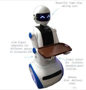 Intelligent Waiter Robot in Supermarket pictures & photos