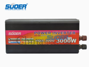 Suoer Factory Price 3000W DC 12V to AC 220V Power Inverter (HDA-3000A) pictures & photos