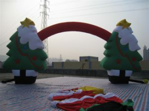Inflatable Christmas Tree Arch (XR-IA-381)