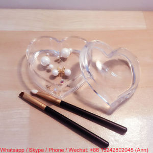 Heart Shape Acrylic Earring Storage Box pictures & photos