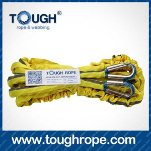Tr-02 ATV Winch Dyneema Synthetic 4X4 Winch Rope with Hook Thimble Sleeve Packed as Full Set pictures & photos