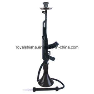 Wholesale 2016 Zinc Alloy Mob Hookah Gun Ak47 Hookah pictures & photos