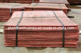 Copper Cathodes with High Quality and Competitive Price