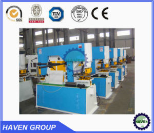 Hydraulic Iron Worker hydraulic Combined Punching and Shearing Machine with Notching pictures & photos