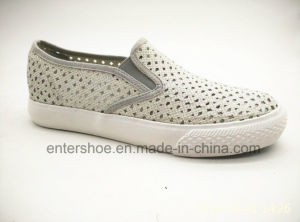 Slip on Women Casual Shoes with Glitter Upper (ET-YH160108W) pictures & photos
