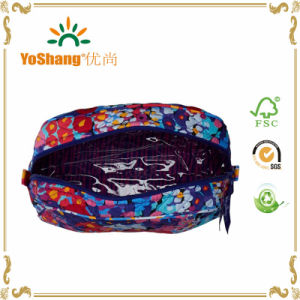 Wholesale Cheap New Material Quilting Pattern Travel Cosmetic Bag pictures & photos