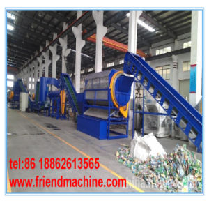 Pet Bottle Flakes Plastic Recycle Machine pictures & photos