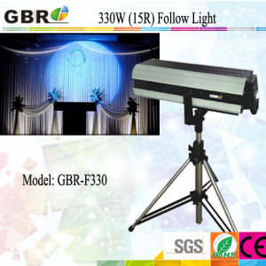 17r 330W High Quality Stage Use Following Spot Lighting