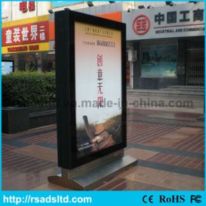 Free Standing Customized LED Advertising Scrolling Lightbox
