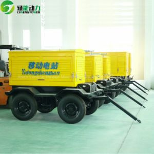 Mobile Power Station Gas/Diesel Generator From China Manufacturer pictures & photos