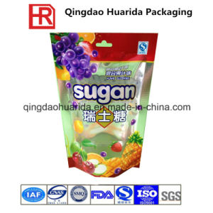 Stand up Plastic Food Packaging Bag with Zipper and Valve pictures & photos