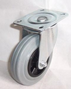 European Type Rubber Caster (grey) pictures & photos