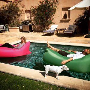2017 Most Popular Inflatable Folding Sleeping Lazy Bag, Inflatable Lazy Sleeping Bag pictures & photos