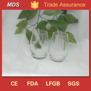 Flint Glass Material Transparent Custom Whiskey Drinking Glasses pictures & photos