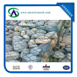2.7mmx80X100mm Hot-DIP Galvanized Gabion Box, Gabion Mesh pictures & photos