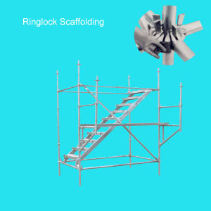 48.3mm Layher Scaffolding Parts Rizhao Factory (FF-0001) pictures & photos