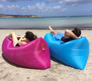 Outdoor Camping Fast Inflatable Air Sofa Bed pictures & photos